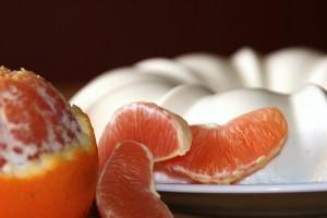 Orange Yogurt Panna Cotta
