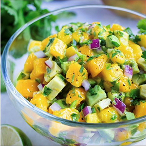 Easy Mango Salsa Recipe  🥭