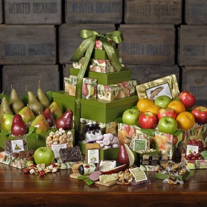 mountain of gifts, Fruit Tower, Fresh fruit, Fruit Gifts, The Fruit Company, Premium Fruit