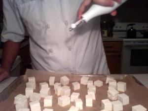 Roasting Tofu