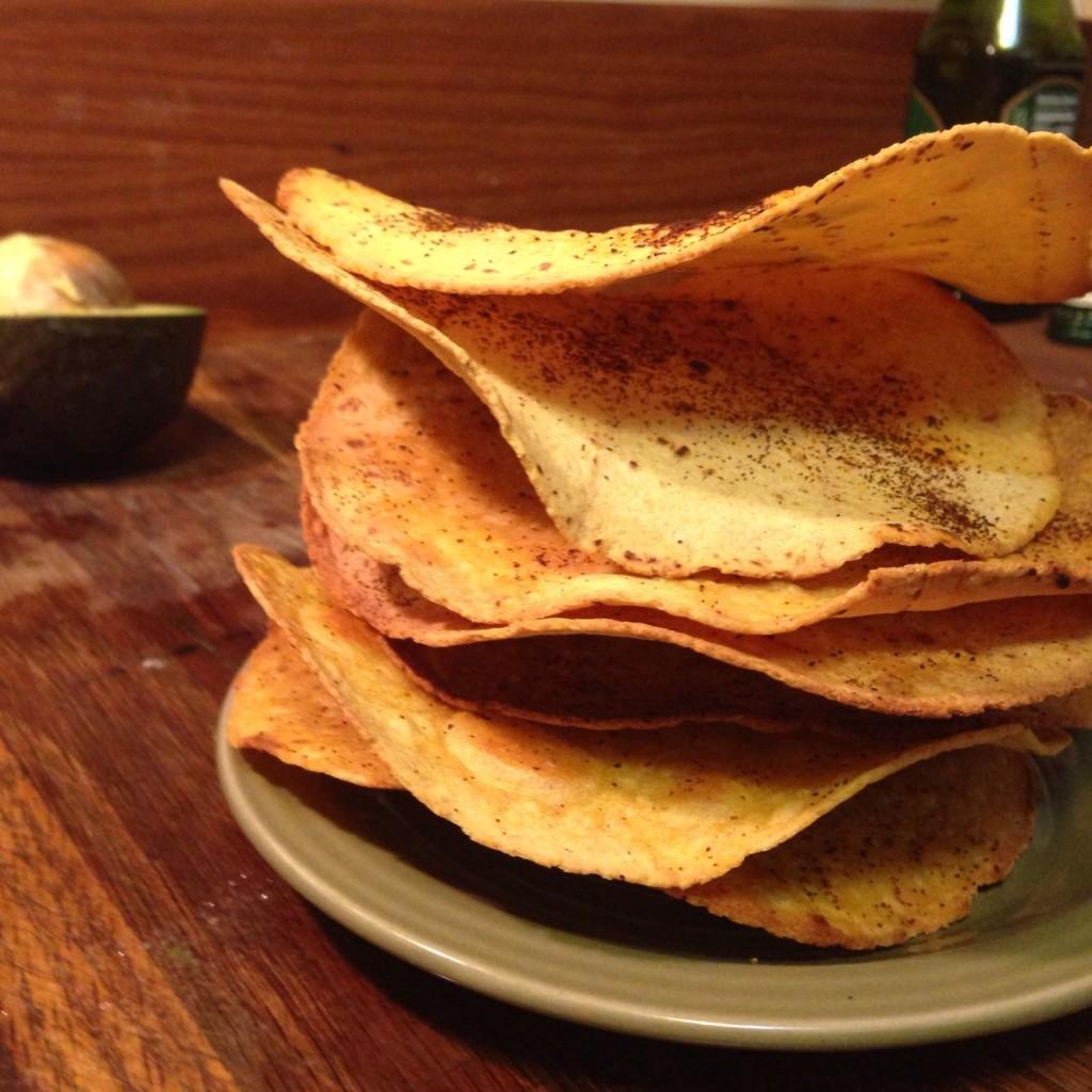 tostada shells