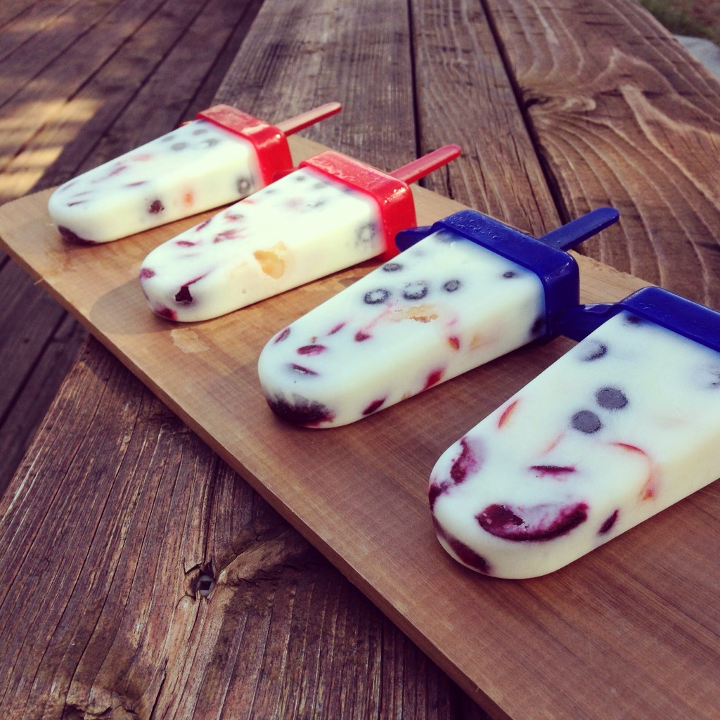 Summer Fruit Yogurt Popsicles recipe on The Fruit Company Blog