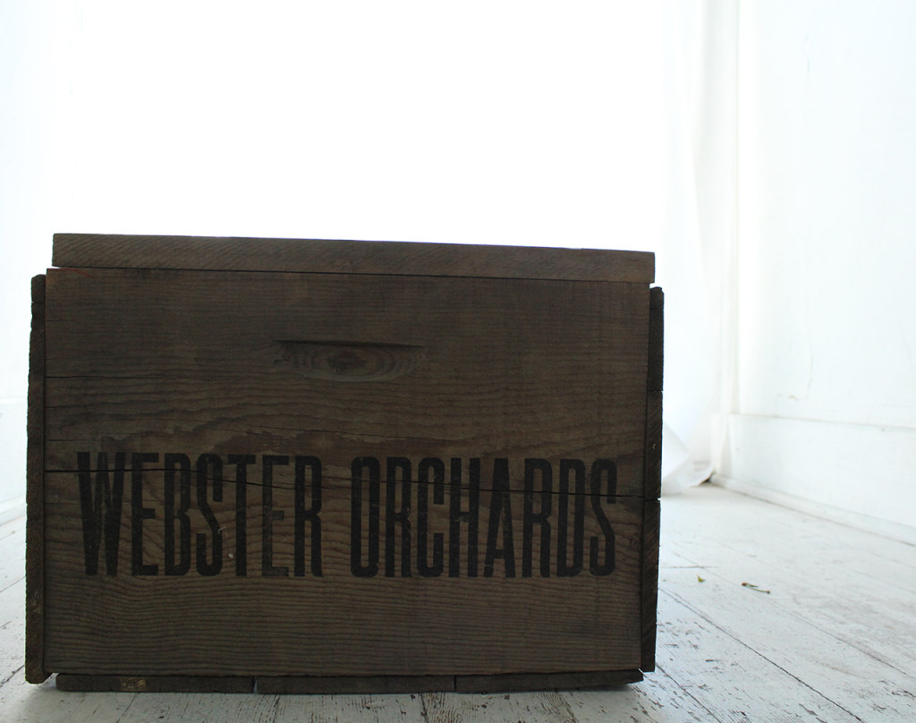 The Fruit Company, Webster Orchards, Comice, Box, Fruit, Harvest, Brand, Vintage