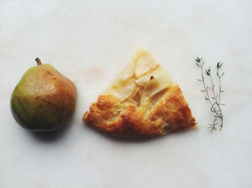 TFC Pear with Thyme Galette