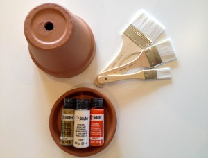 DIY Painted Pots on The Fruit Company Blog