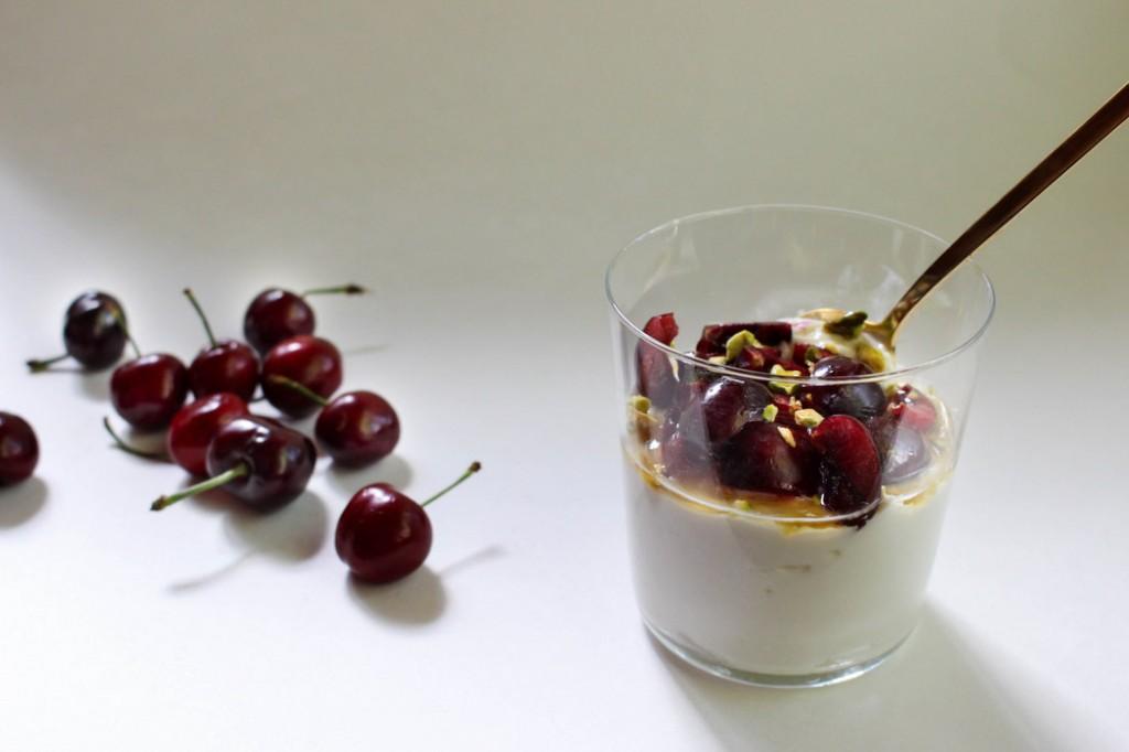 Cherry Vanilla Pudding recipe on The Fruit Company Blog