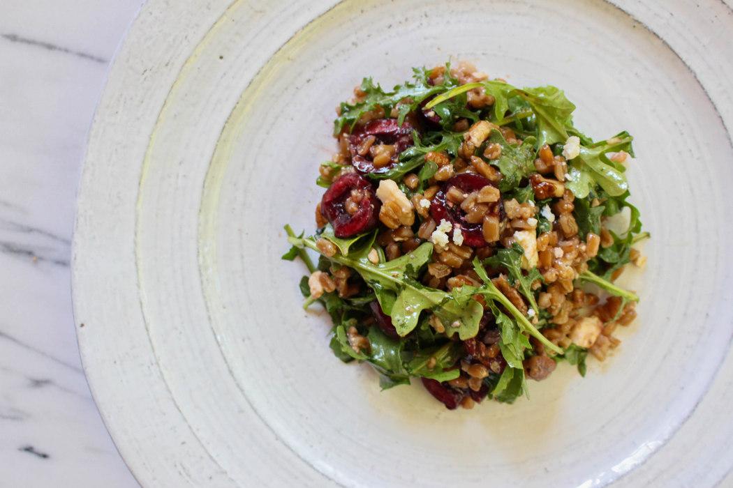 Dark Sweet Cherry Arugula Salad | Recipe on The Fruit Company Blog