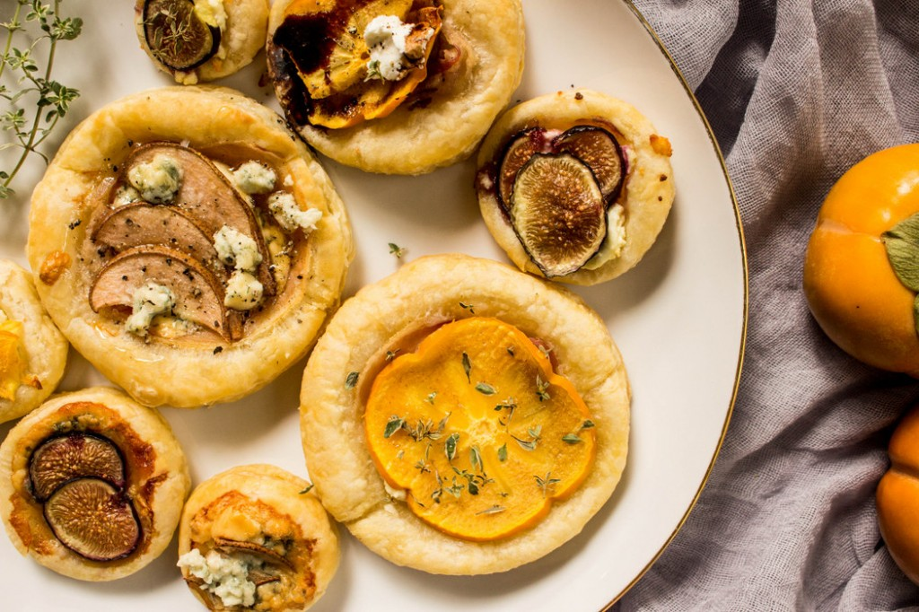 Pear and Persimmon Tarts | Recipe on The Fruit Company Blog