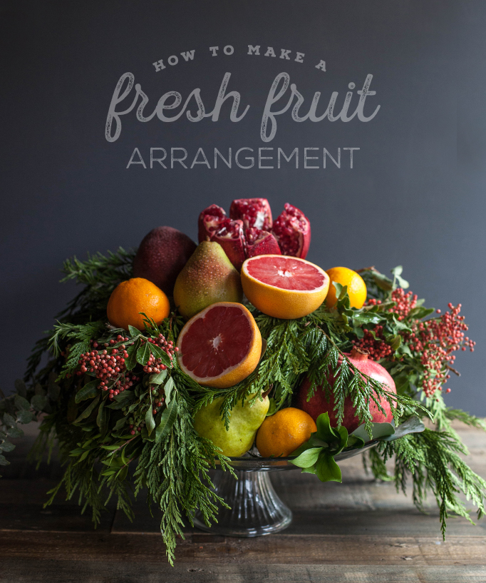 How To Make A Fresh Fruit Arrangement | The Fruit Company Blog
