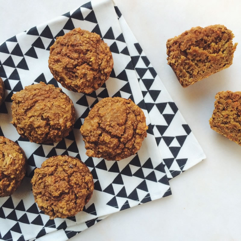 Apple Carrot Muffin Recipe on The Fruit Company Blog