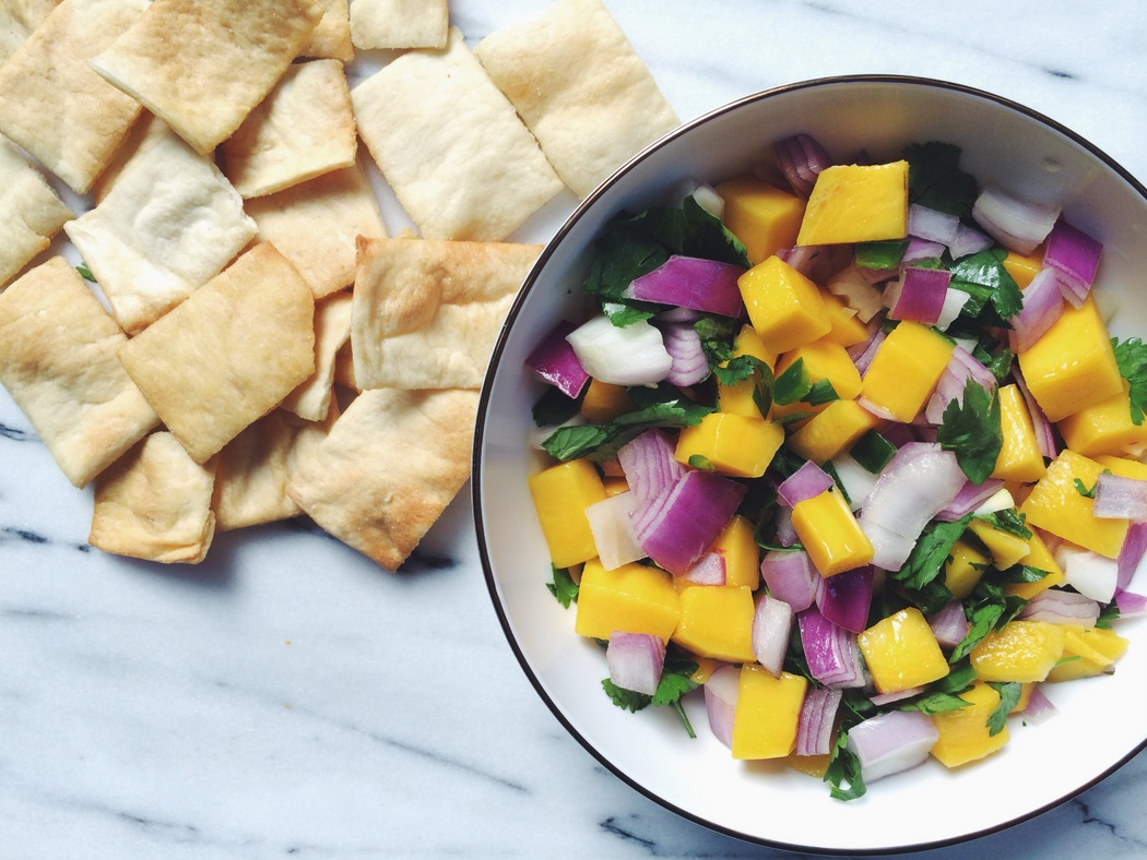 Great recipe from The Fruit Company for Mango Salsa