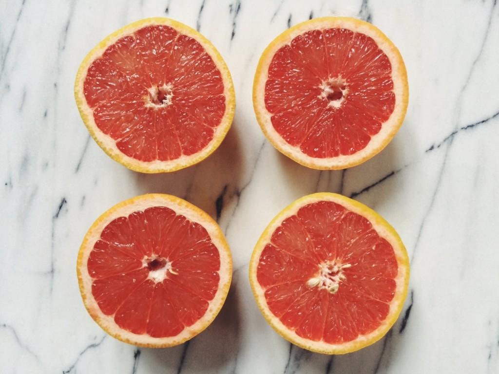 Broiled Grapefruits