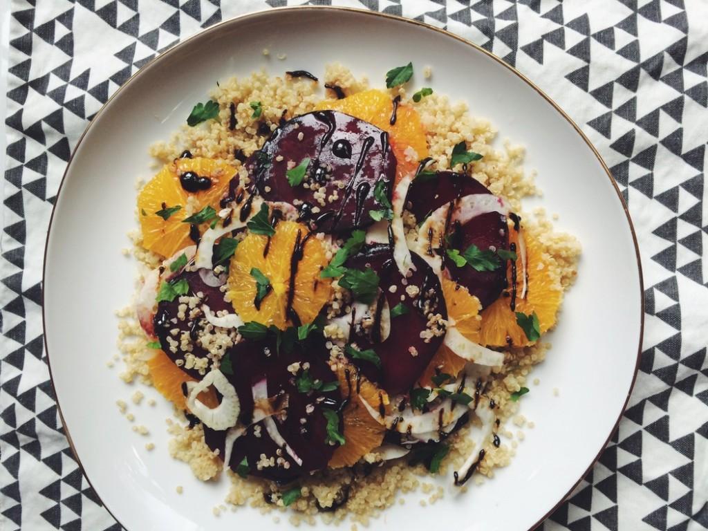 Orange Beet Salad recipe from The Fruit Company